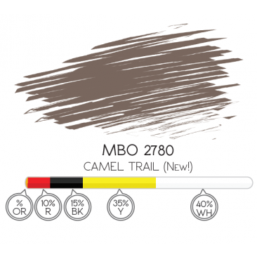 Pigmento 8ml Camel Trial - MBO 2780